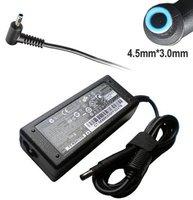 Блок питания (зарядное, адаптер) HP 19.5V 3.33A разъем голубой 4.5x3.0mm 1-pin PPP009C 709985-002 710412-001 original