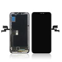 Дисплей экран в сборе для iPhone X в сборе с тачскрином (AMOLED) черный оригинал