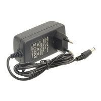 Блок питания зарядное сетевой адаптер для роутера 12V 1A 5.5x2.5mm (12W)