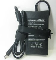 Блок питания (зарядное, сетевой адаптер) DELL 19.5V 3.34A PA-2E slim тонкий