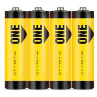 Батарейка солевая Smartbuy ONE R6/4S AA (4шт)