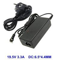 Блок питания (зарядное, адаптер) для ноутбука Sony VGP-AC19V63 ADP-65UH C vgp-ac19v43 vgp-ac19v48 vgp-ac19v49 19.5V 3.3A разъем 6.5x4.4 мм