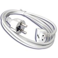 Шнур сетевой (кабель) для блока питания (зарядных устройств) Apple MagSafe 1.8m
