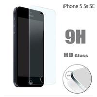 Защитное стекло JAMBO Premium HD 9H для iPhone 5 / 5S / 5C / SE